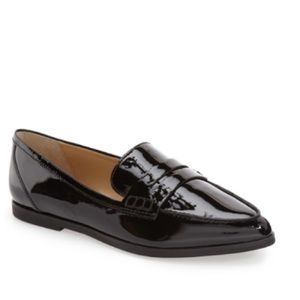 fb04f39c623 Michael Kors Shoes - MICHAEL KORS ~ Conner black patent leather loafer